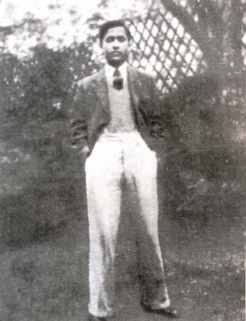 Jyoti Basu at the age of 21